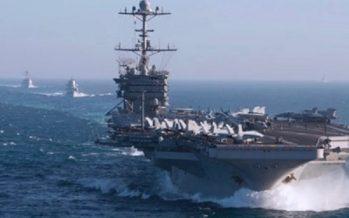 Flota estadounidense con 1000 misiles en el Mediterráneo