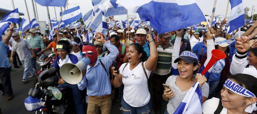 Tras un mes de protestas inicia diálogo en Nicaragua