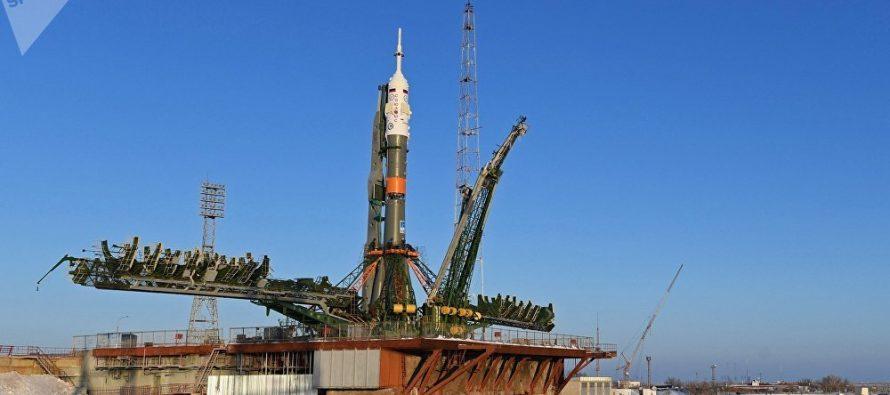 El Soyuz MS-09 parte a la Estación Espacial Internacional