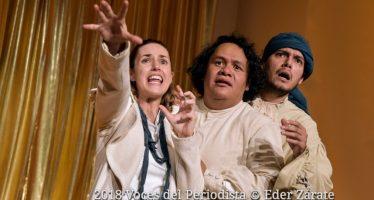 """""""Una merienda de negros"""" se presenta en la Casa del Lago como parte del programa Teatro en Plazas públicas, Teatro en tu barrio"""