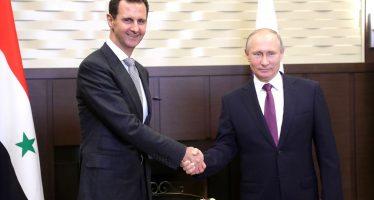 Putin se reune con Assad