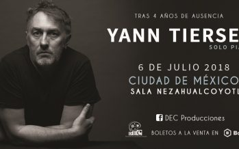 Trás cuatro años de ausencia, Yann Tiersen regresa a México