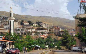 3000 familias vuelven a la ciudad de Zabadani