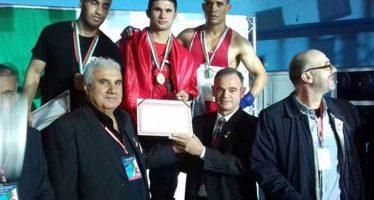 Púgiles sirios ganan medallas en campeonato internacional de boxeo
