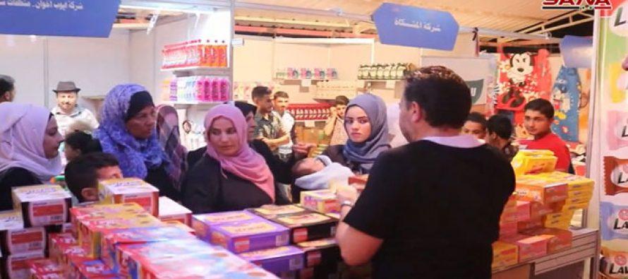 Deir Ezzor acoge el primer Festival de compras del Éufrates