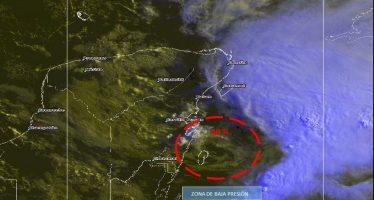 Prevén aumento de potencial ciclónico frente a Quintana Roo