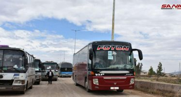 Continua desalojo de terroristas del campo norte de Homs