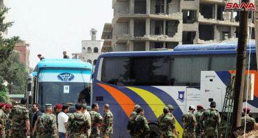 Continúan preparaciones para evacuar a los terroristas