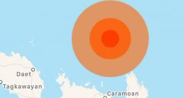 Reportan sismo de magnitud 5,9 en Filipinas
