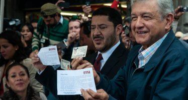 Reciente encuesta da 50% de intención de voto a AMLO