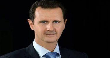 Al-Assad recibe mensajes de felicitación por Eid al-Fitr