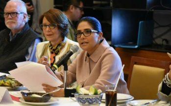 Alejandra Barrales promete cero tolerancia contra la delincuencia