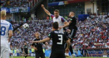 Messi falla un penal e Islandia saca el empate ante Argentina