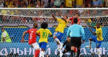 Brasil se deja alcanzar por Suiza en su debut en Rusia 2018