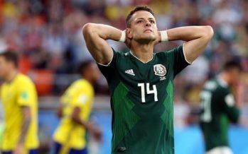 """México pasa a """"octavos"""" de manera dramática en Rusia"""