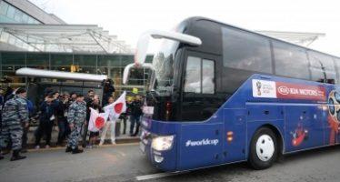 Con Japón, ya están en Rusia las 32 selecciones para el Mundial