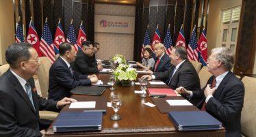 Punto por punto: el documento que han firmado Trump y Kim