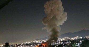 Nueva explosión por pirotecnia en Tultepec