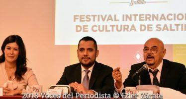 El Gobierno Municipal de Saltillo presentará el Festival Internacional de Cultura de Saltillo