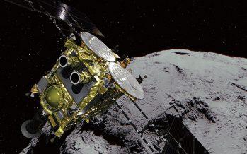 Una sonda espacial japonesa llega a asteroide Ryugu