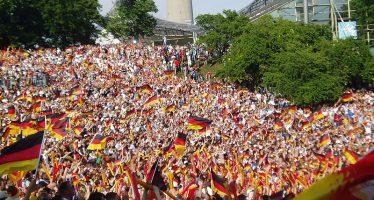 Hinchas alemanes consternados con la eliminación