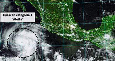 Huracán 'Aletta' está cerca de México