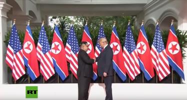 Trump reivindica paz con Corea del Norte