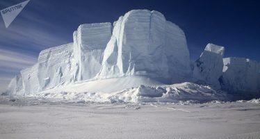 Registran anomalías de temperatura en la Antártida