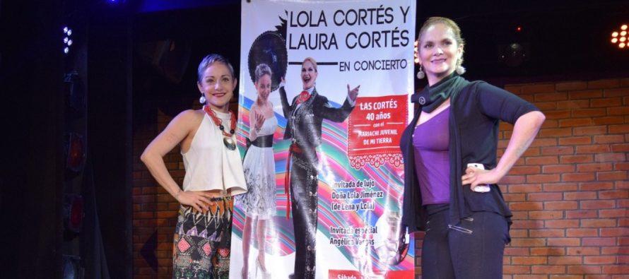 Laura y Lola Cortés celebrarán 40 años de trayectoria artística con un concierto acompañadas de mariachi