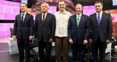 Segundo debate presidencial, el más visto en televisión