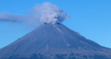 Popocatépetl emitió 78 fumarolas de baja intensidad