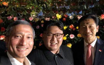 El primer selfie de Kim Jong-un