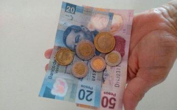 Salario promedio nacional fue de $1,728 mensuales, en abril