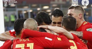España empata con Marruecos y enfrentará a Rusia