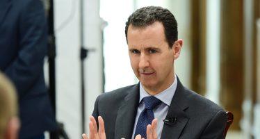 Asad señala a los países que iniciaron la guerra contra Siria