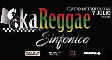 """Llega a México lo más representativo de la escena musical latinoamericana bajo el concepto """"Ska Reggae Sinfónico"""""""