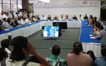 Continúa alerta naranja en Guerrero por tormenta Carlotta