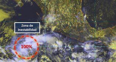 Meteorológico vigila baja presión al suroeste de Michoacán