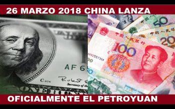 Petroyuán y el poderío corporativo chino contra el dólar