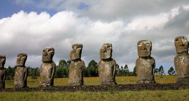 Revelan el misterio de las estatuas de la isla de Pascua
