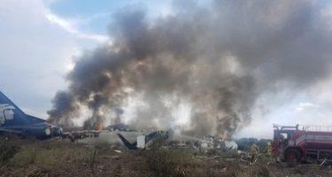 Aeroméxico confirma que no hay fallecidos en accidente del vuelo AM2431