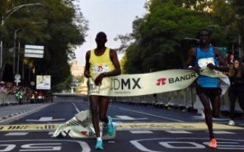 Africanos dominan Medio Maratón de CDMX; mexicanos llegan quinto lugar