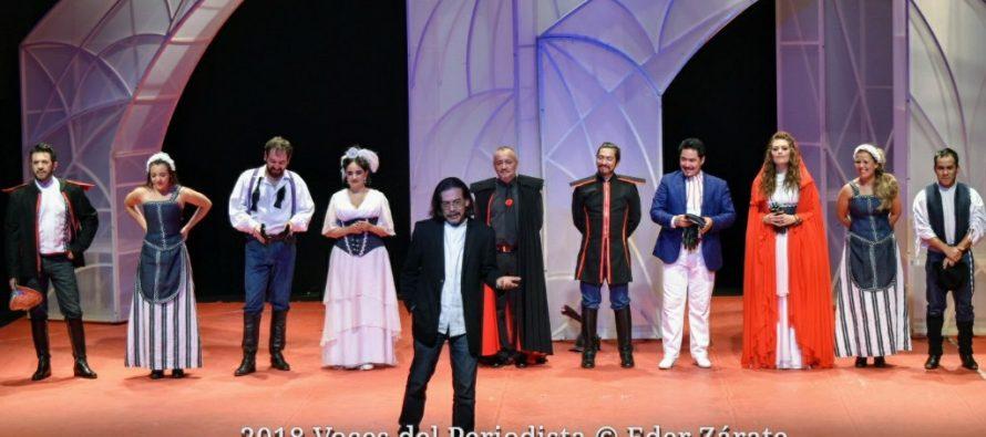 """Estrena de manera exitosa """"Amor es más laberinto"""" en el Teatro Benito Juárez"""