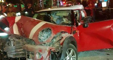 Consumo de alcohol y exceso de velocidad, principales causas de accidentes viales