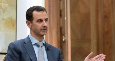 Cascos  Blancos, máscara de Al Qaeda y Al Nusra: Al Assad