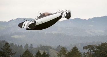 Así es el primer vehículo volador. Sólo utiliza energía eléctrica