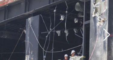 "Riobóo ""no diseñó"" la estructura de Plaza Artz que se colapsó"
