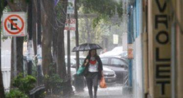 Llueve en al menos seis delegaciones capitalinas