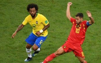 Bélgica pone contra las cuerdas a Brasil con 2-0 al descanso
