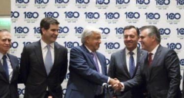 Concamin y AMLO acuerdan trabajar en una política industrial